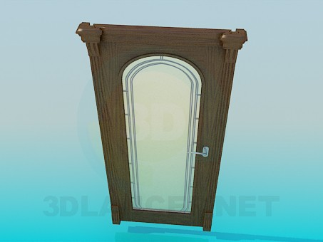 3D Modell Tür - Vorschau