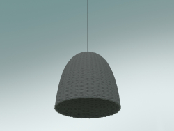 Pendant lamp (Bell 95, Lacquered Gray)