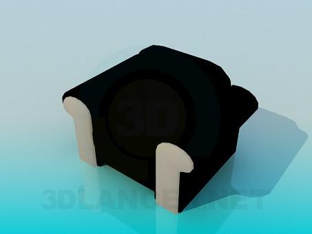 3d модель Удобное кресло – превью