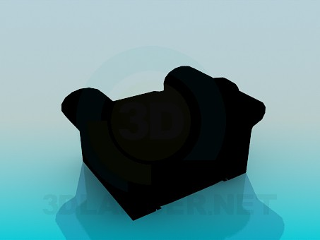 3d model Comfortable chair - preview