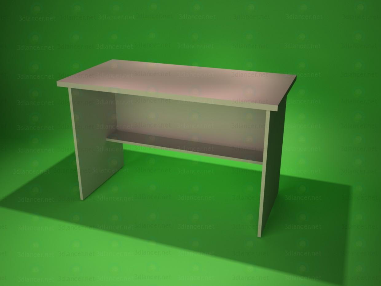 3d modeling Desk 1 model free download