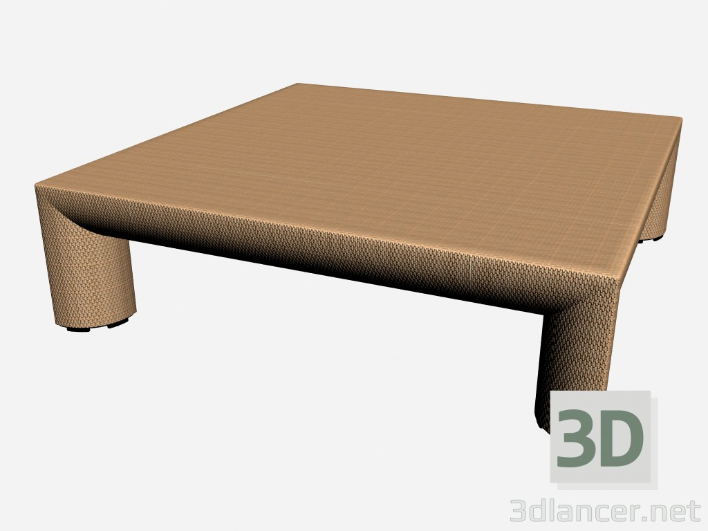 3d model Table attached Side Table 8874 - preview