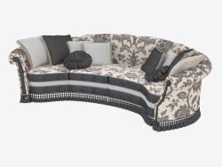 Classical semi-circular sofa (13401)