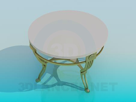 3d modeling Сoffee table model free download