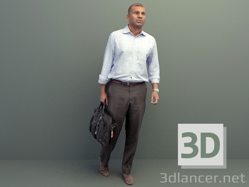 3d model Persona - preview