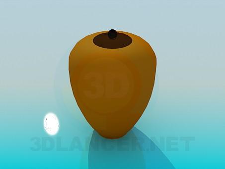 3d modeling Vase model free download