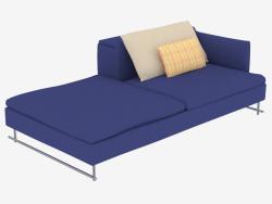 Le canapé est modulaire