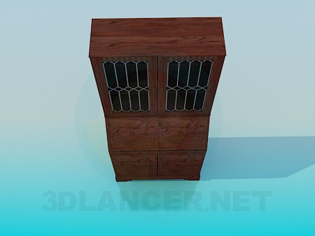 3d modeling Buffet model free download