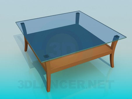 3d model Glass tables - preview