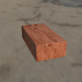 3d brick brick model buy - render