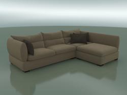 Corner sofa Parma (3050 x 2100 x 830, 305PA-210-CR)
