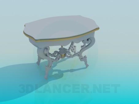 modelo 3D Mesa antigua - escuchar
