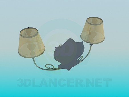 3d model Night Lamp - preview