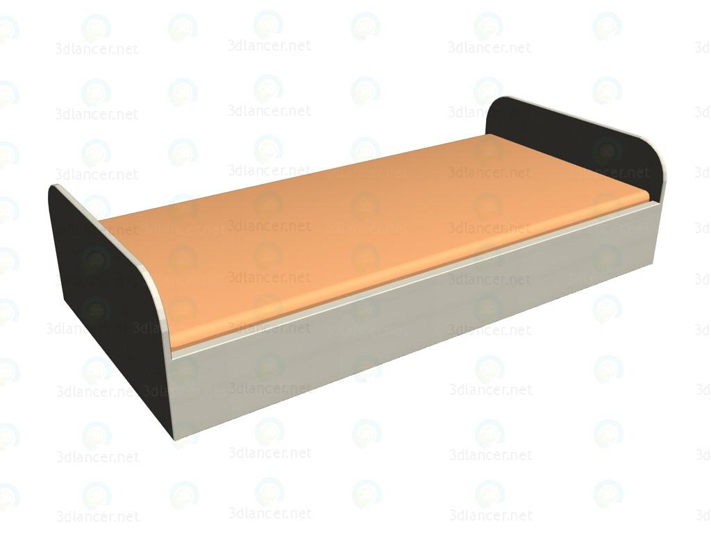 3d модель Кровать ЛК-101 – превью