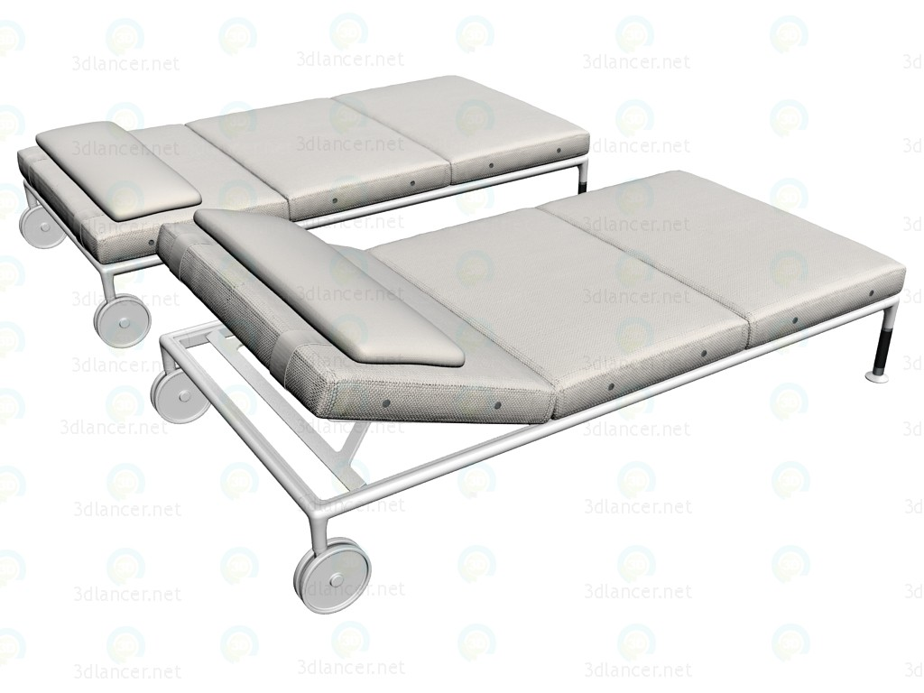 3d modeling Chaise ST100CH model free download