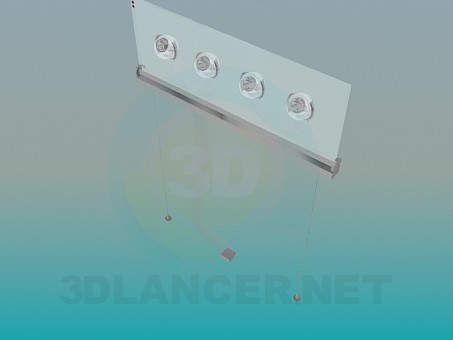 3d model Lamp pendant - preview