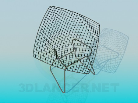 3d modeling Chair-grid model free download