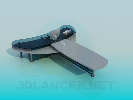 3d model Table head - preview