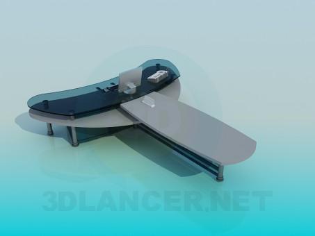 modelo 3D Cabeza de la mesa - escuchar