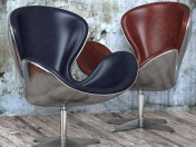 Крісло Spitfire Swan Chair Aviator (5 кольорів)