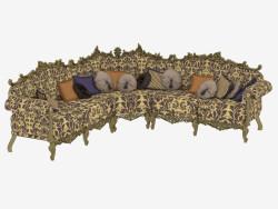 Classic Corner Sofa (12401)
