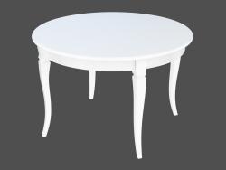 Table à manger NOBILITY tavolo (1200x1200 plié)