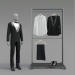 3d Classic male tuxedo model buy - render