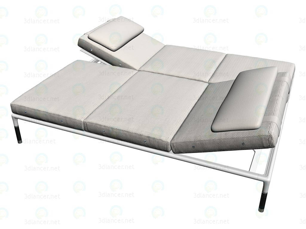 3d model chaise st170ch 4 b b italia collection springtime for Chaise modele