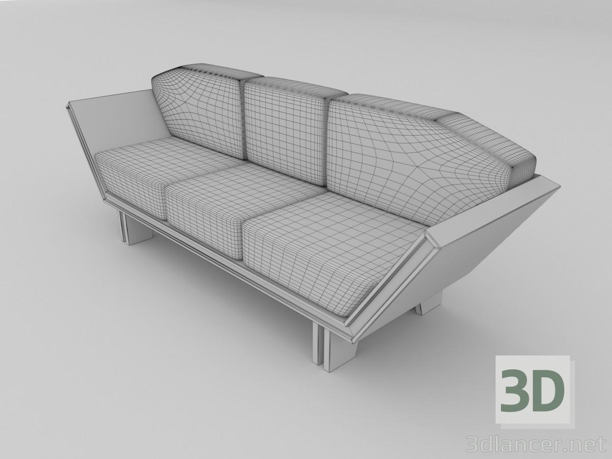 3d model modern sofa for Sofa 3d model