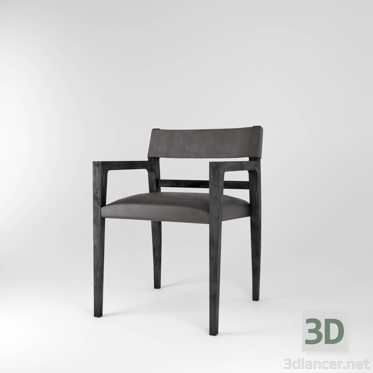 3d model Benton Dining Chair - preview