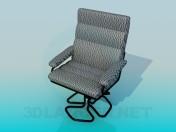 Зручне крісло за комп'ютерний стіл