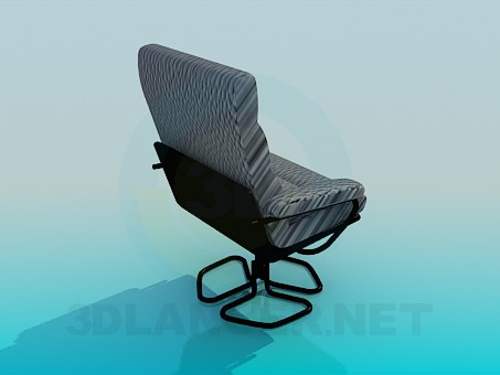 3d model A comfortable chair for computer desk - preview