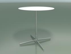 Стіл круглий 5553 (H 72,5 - Ø 69 cm, White, LU1)