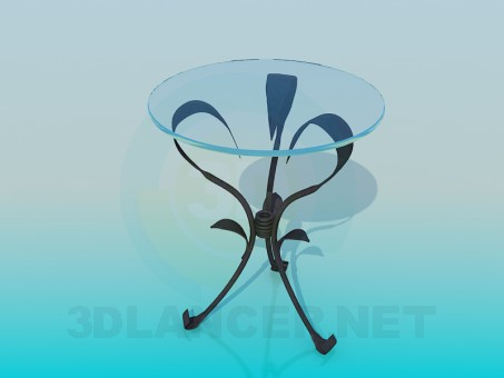 3d model Forged table - preview