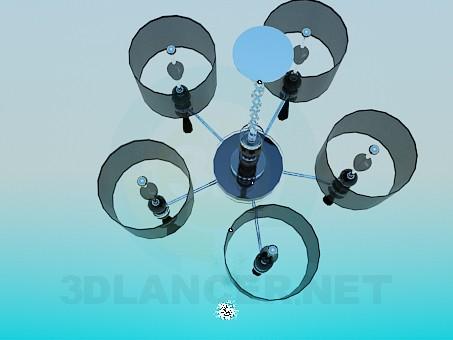 modelo 3D Araña de estricto - escuchar