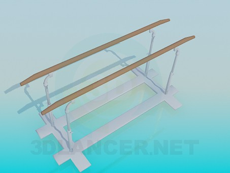 3d model Bars - preview