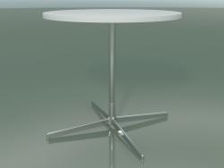 Стол круглый 5514, 5534 (H 74 - Ø 79 cm, White, LU1)