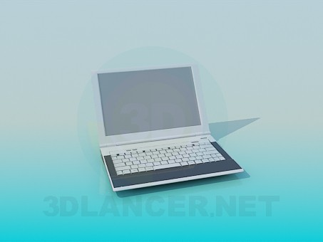 3d model Laptop - preview