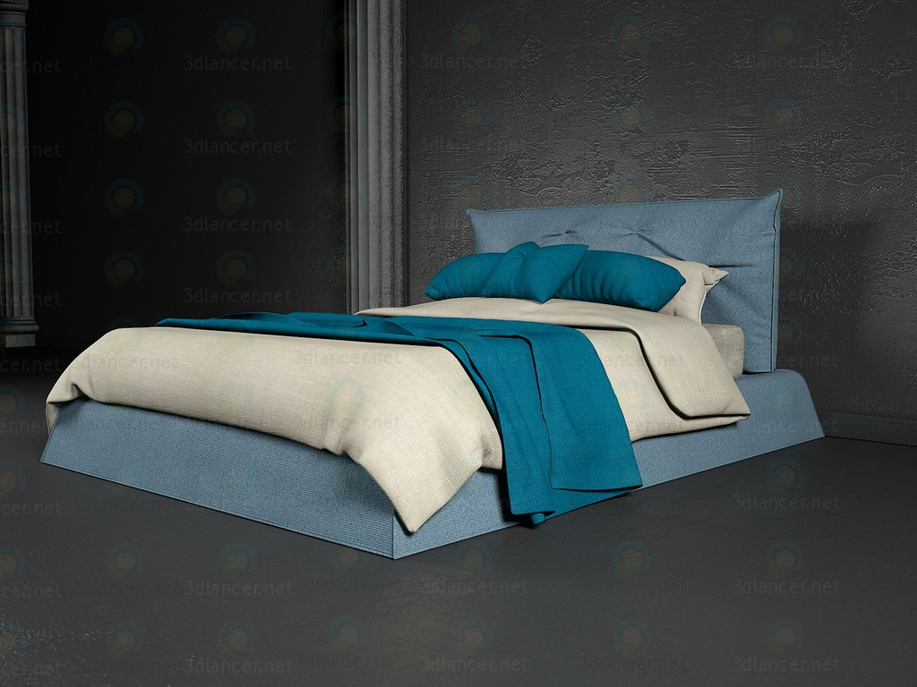 Bed Aspen Flex Team paid 3d model by NewYear preview