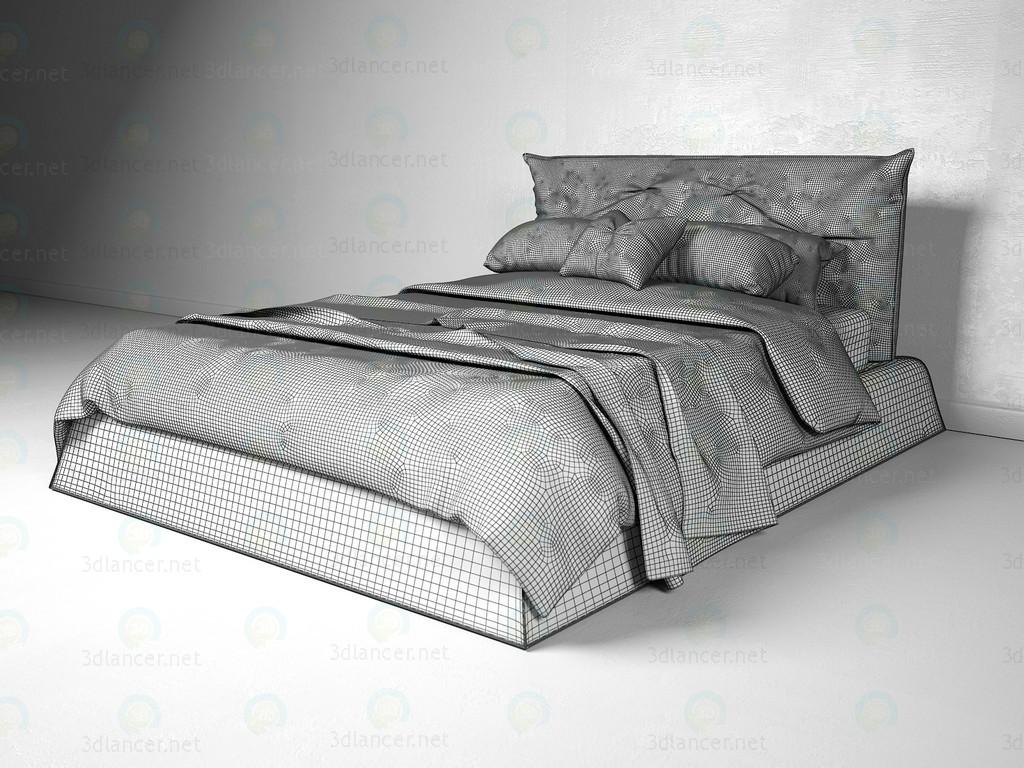 3d Кровать Aspen Flex Team модель купить - ракурс