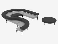 Système de sièges modulaire