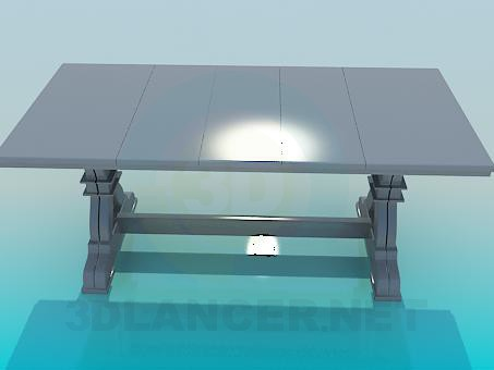 3d модель Стол кухонный – превью