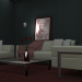 3d collection furniture model buy - render