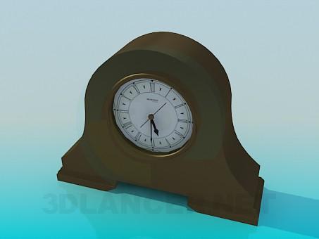 3d model Desktop clock - preview