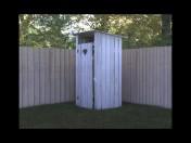 туалет деревенский