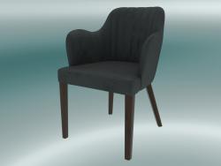 Mezza sedia Jenny (grigio scuro)