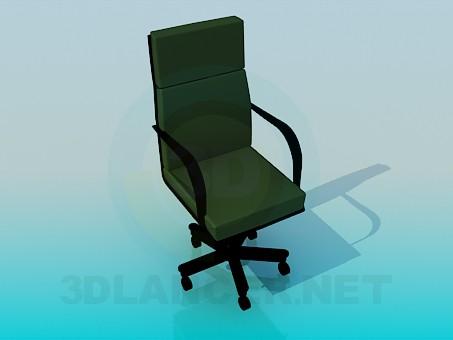 modelo 3D Silla de oficina móvil - escuchar