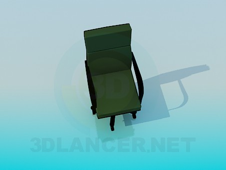 3d model Office mobile chair - preview