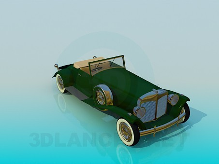 3d model Rarity car - preview