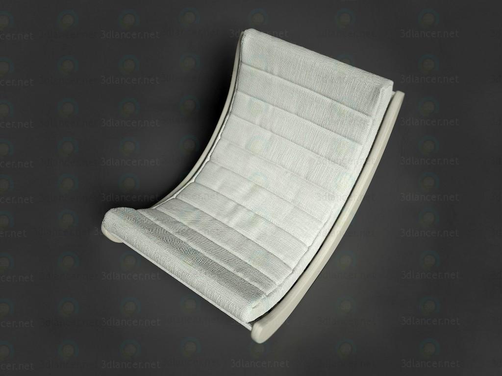 3D-Modellierung Sessel Modell kostenlos herunterladen